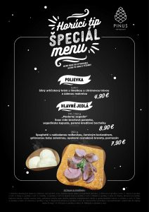 horuci tip menu special Pinus